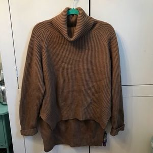 Ladies turtleneck sweater